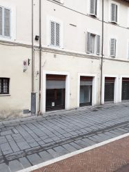 Foligno, centro storico, Largo Frezzi - AUDITORIUM -