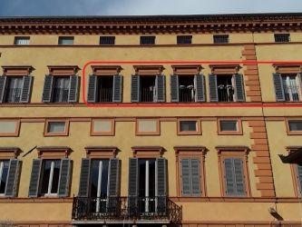 Foligno, centro storico, via Antonio Gramsci